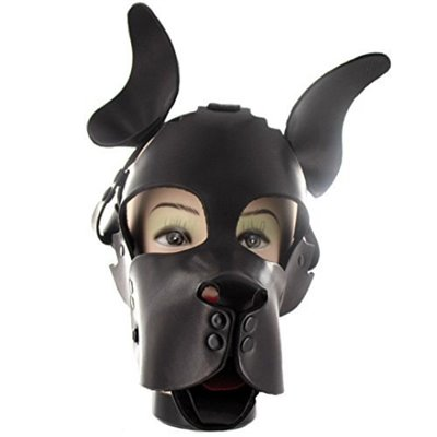 Woof Leather Muzzle Harness